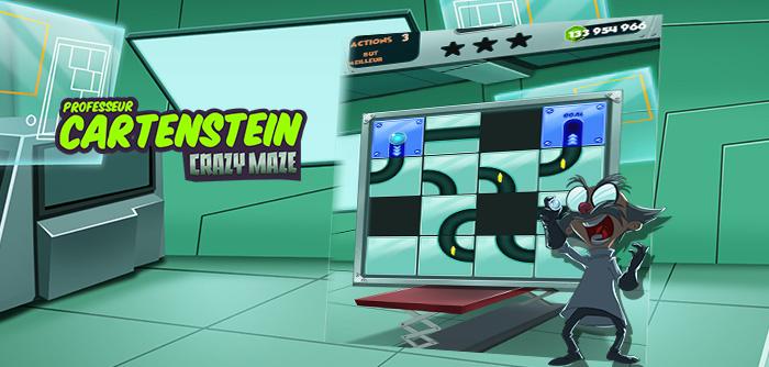 Professeur Cartenstein nous a inventé un jeu encore plus fou !